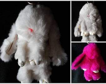 Plush Key Chain Sweet Bunny