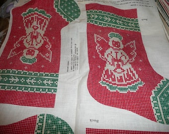 Vintage VIP Lace Net Christmas Stockings To Make