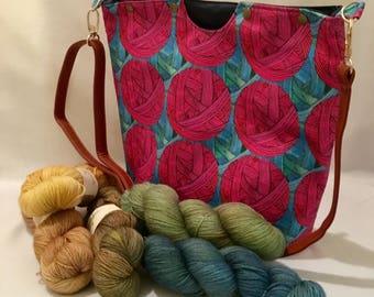 Morningside Knitting Bag