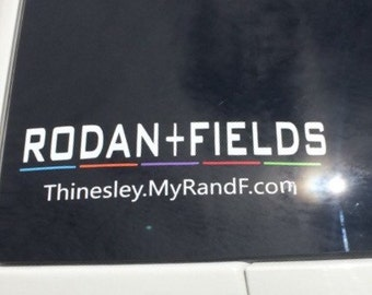 Rodan and Fields Car Decal - Rodan and Fields Decal - Rodan and Fields