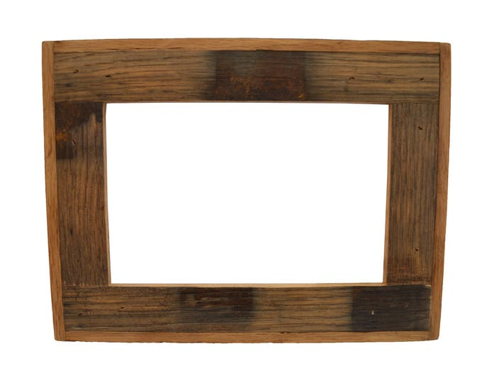 Bourbon Whiskey Barrel Picture Frame