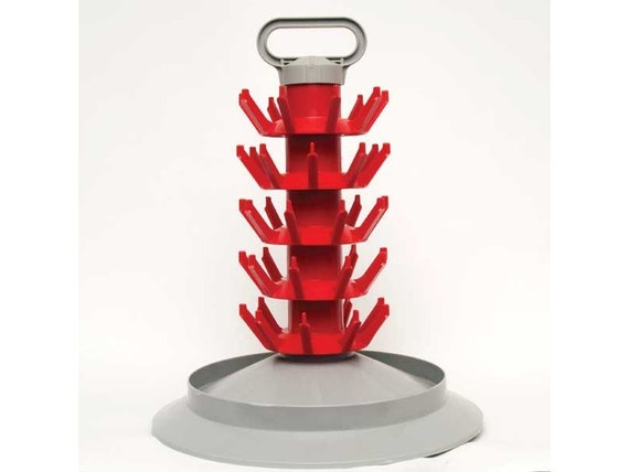 Home Brewing Beer and Wine Bottle Drying Tree