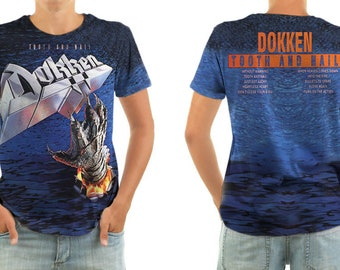 DOKKEN tooth and nail shirt all sizes