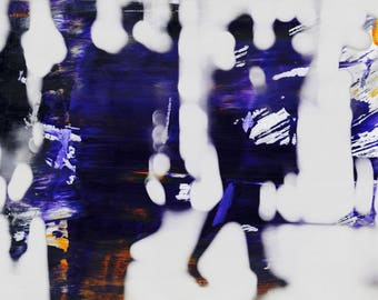 SAIGON BLUR LXXXII - by Sven Pfrommer - Artwork is ready to hang