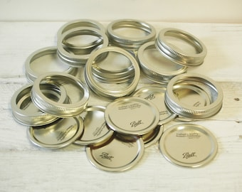 Regular mouth Pint jar Ring and Cover, canning, jar lids, Fall canning lids, mason jar lids, mason jar rings, regular mount Mason jars