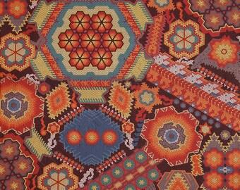 Robert Kaufman La Plaza Floral Mosaic Fiesta Fabric by the Yard SRK-13617-194
