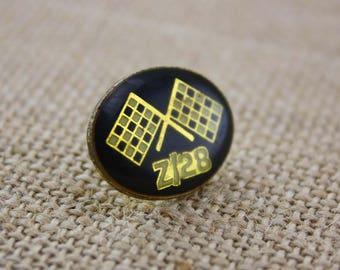 Z/28 Racing - Enamel Pin by American Gag Bag Inc. - Vintage Novelty Pin c. 1980s