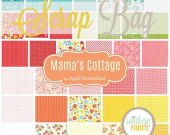 Mamas Cottage - Scrap Bag Quilt Fabric Strips by April Rosenthol for Moda