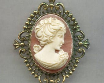 DEAL of the WEEK!  AVON Cameo Locket Pin