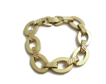 Vintage Chunky Sarah Coventry Chain Link Bracelet