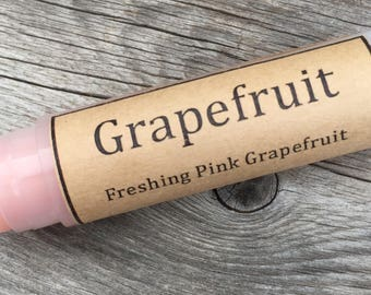 Grapefruit Natural Lip Balm