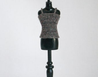 Blythe doll Camisole Sweater knitting PATTERN - basic strap top for Neo - instant download - permission to sell finished items
