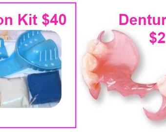 Dental Impression Kit Only | Affordable Dentures Online | Custom-Made