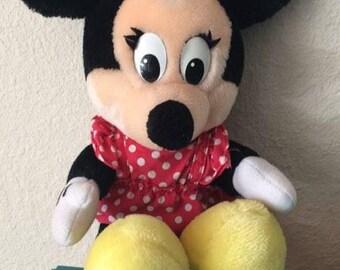 Vintage Disney Parks Minnie Mouse Plush