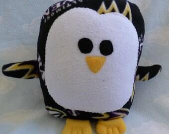 Plush Baltimore Ravens Penguin Pillow Pal
