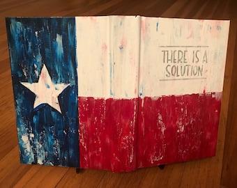 Big Book - Flag Themed - Custom, Hand Painted