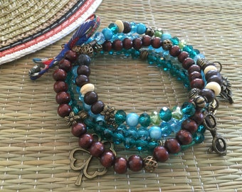 ethnic Bohemian Cuff Bracelet