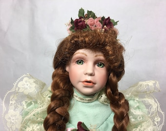 Kingstate The Dollcrafter Limited Edition Porcelain Doll