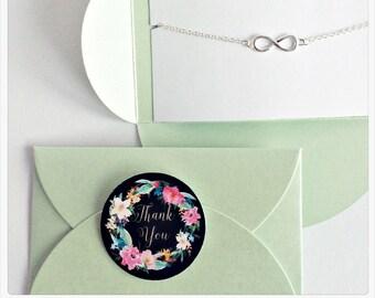 5x Infinity, Infinity, Infinity, Infinity, Bridesmaid Gift, Gift, Love, Eternity