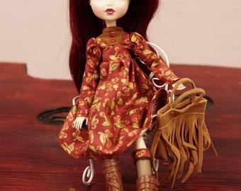 Monster High Doll Dress Cherry