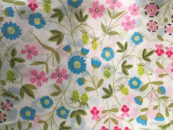 Tana lawn fabric from Liberty of London, Mirabelle