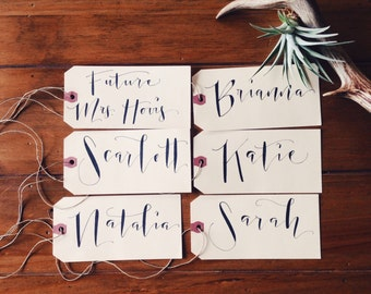Personalized Name Tags Extra Large- Set of 10 or more
