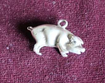Little pig charm pendant