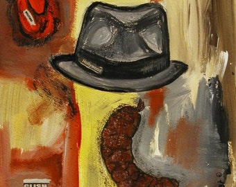 FWILDER joseph beuys fluxus painting outsider art surreal collage