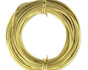 Aluminum Wire Light Gold Color 18ga/39 Feet PDW18-LG