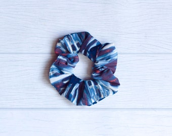 Scrunchie stripes, Coletera, hair, elastico, velvet hair srunchie, 80s style, 90s, fashion, trend, Christmas