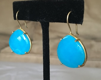 Sterling silver & turquoise's earrings
