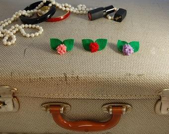 Hydrangea Brooch, Mini Flower Pin, Vintage Style Brooch
