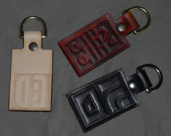 Planet of the Apes cast glyph key fob