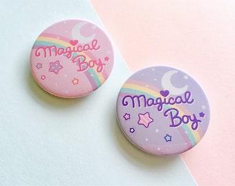 Magical Boy - 45mm Button Badge
