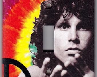 The Doors / Jim Morrison Switchplate Cover - Single Jumbo size (396)