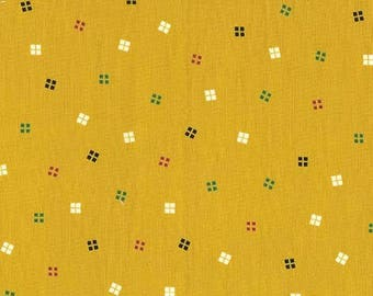 Petit Fours Butterscotch from the Bake Shop Collection by Michael Miller - Modern Cotton Fabric