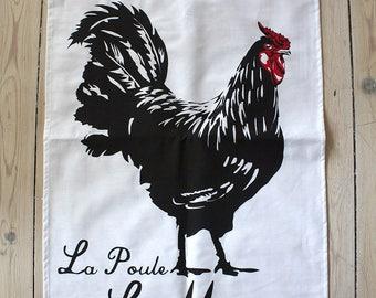 Chicken Mans 100% cotton Tea towel