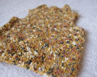 Knit baby sweater, mustard sweater baby, knit vest