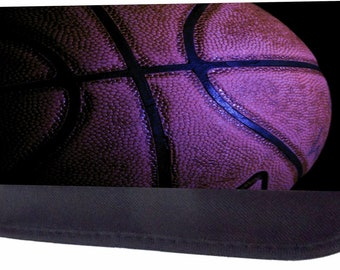 Basketball Up Close Black Pencil Bag - Pencil Case