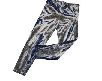 Tie Dye Leggings for Girls-Girls Leggings- Girls Size S and READY TO SHIP