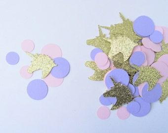 Unicorn Confetti, Unicorn Party Supplies, Unicorn Birthday Party, Unicorn Party Decorations, Pink and Purple Confetti, Princess Birthday