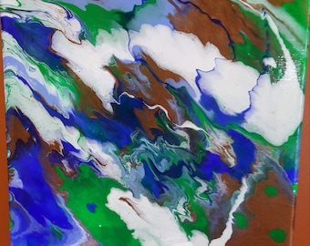 Fluid Abstract Acrylic-