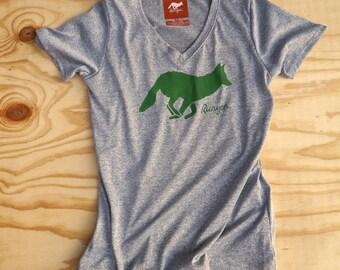 Runyon Signature Green Forester Running Shirt Made In USA