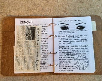 John Winchester's Journal Pages ONLY