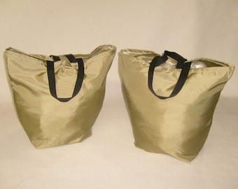Reusable grocery bag, washable, very durable Made in U.S.A.
