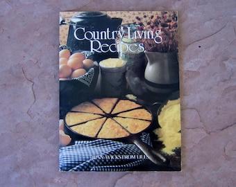 Progressive Farmer Country Living Recipes Cookbook, 1982 Vintage Cookbook