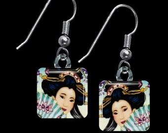 Geisha Earrings(EGe1.2)
