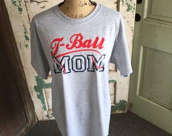 T-ball Mom Shirt - Baseball Mom Shirt - softball shirt - baseball shirt - baseball mom