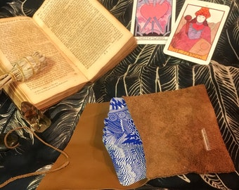 Handmade Leather Tarot Pouch