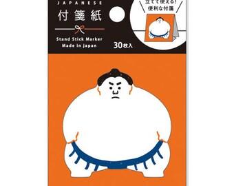 Sumo Wrestler Sticky Notes • Planner Supplies (52283)